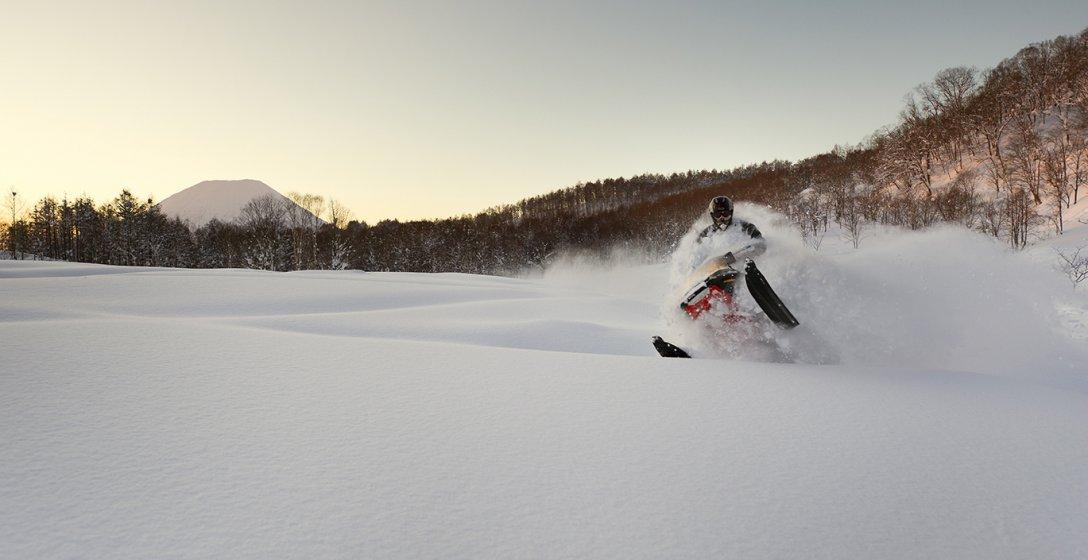 Big Wave Snowmobile
