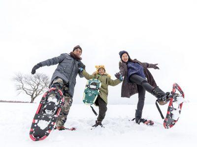 Niseko Photography Snowshoe Tour 4