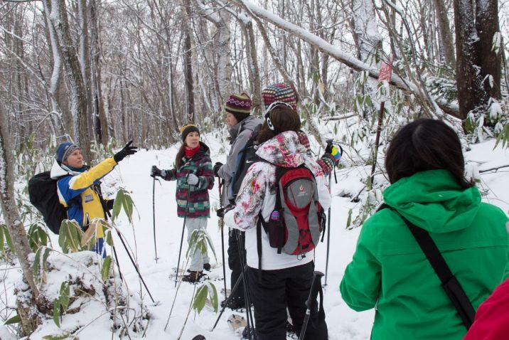Snowshoeing 1