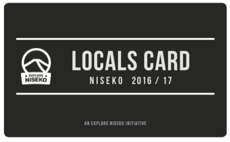 Explore Niseko Locals Card