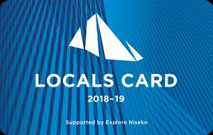 Explore Niseko Locals Card